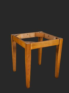 4 Legged Tapered Leg Table Base