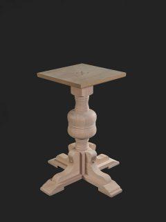 Bulbous Single Pedestal Base