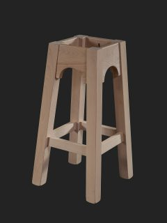 Gothic High Stool