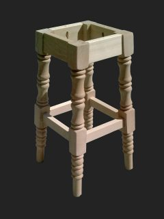 Hotspur High Stool No Back