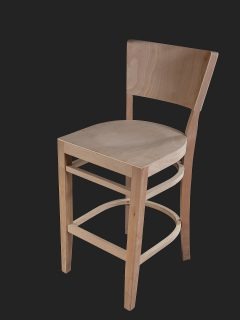 Oregon Show Wood High Stool