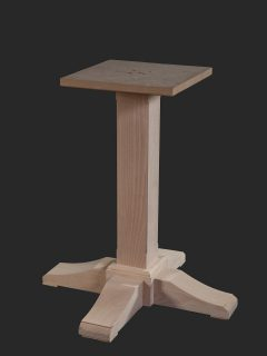 Plealey Single Pedestal Table