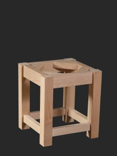 Square Leg Low Stool