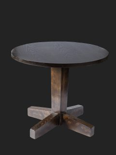 Tapered Column Single Pedestal Coffee Base