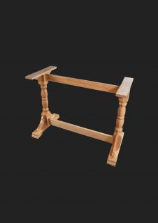 Twin Ped Table Base