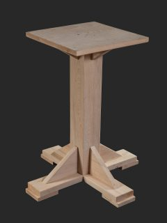 Washington Single Pedestal Base