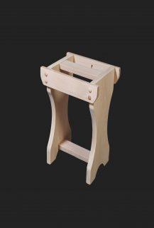 Woodhouse Low Stool