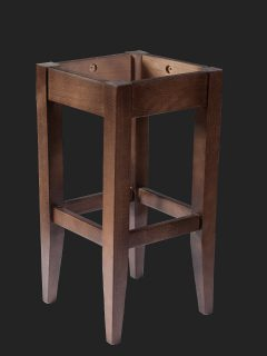Tapered Leg High Stool